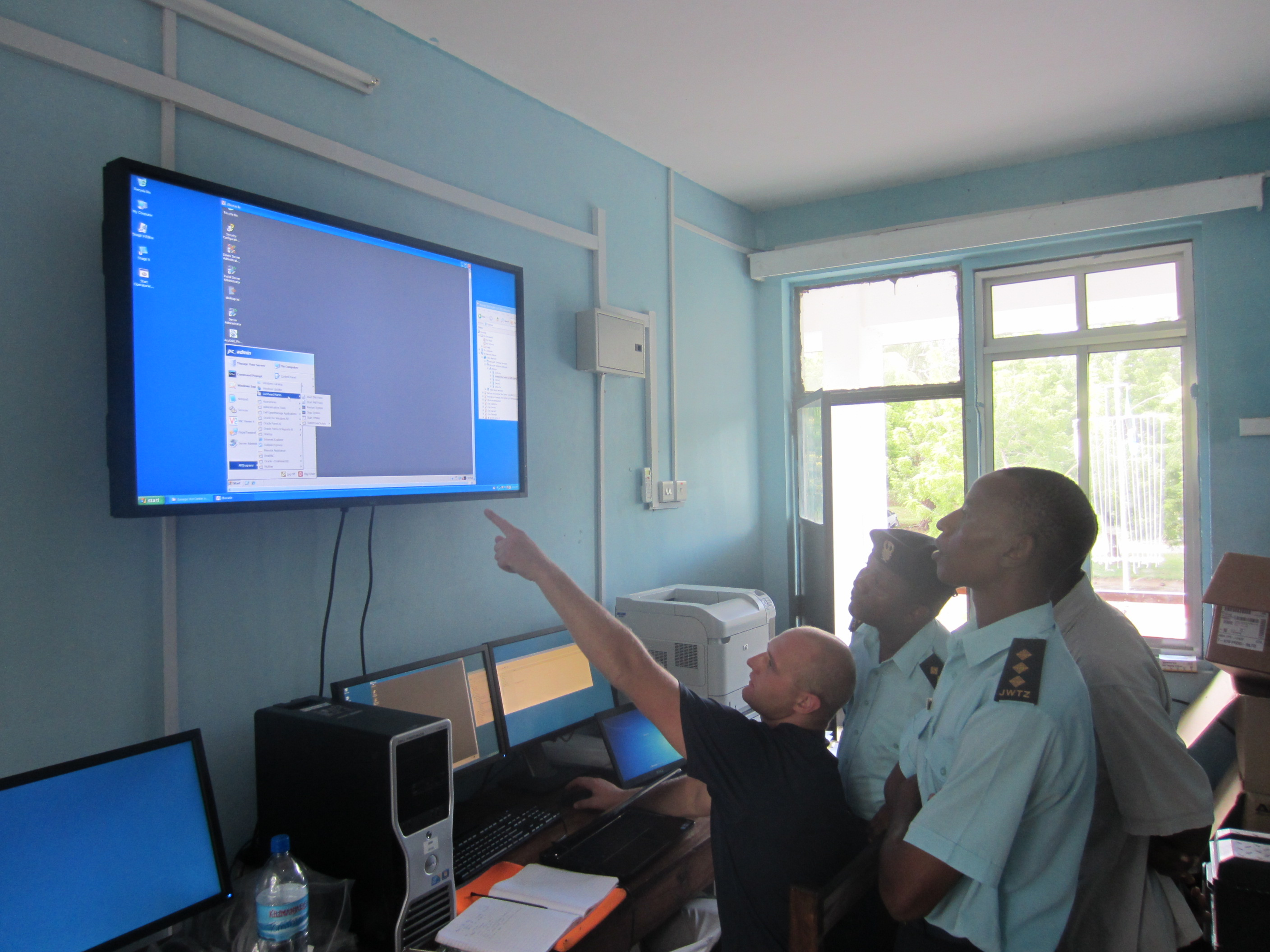 Operation center training for Border and Coastal Surveillance